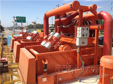 mud cleaner in Horizontal Directional Drilling Mud System