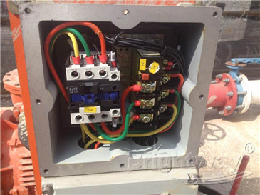 Electric Control Cabinet in HDD system