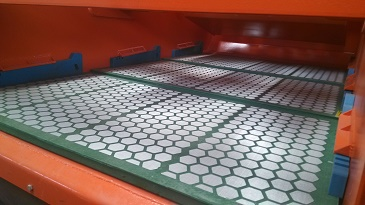 steel fram shale shaker screen